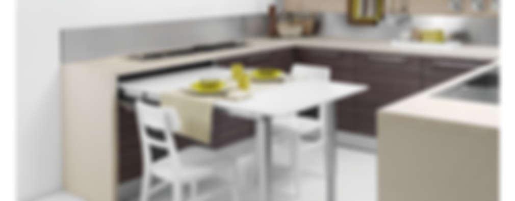 15 cocinas pequeñas y modernas que caben en poco espacio