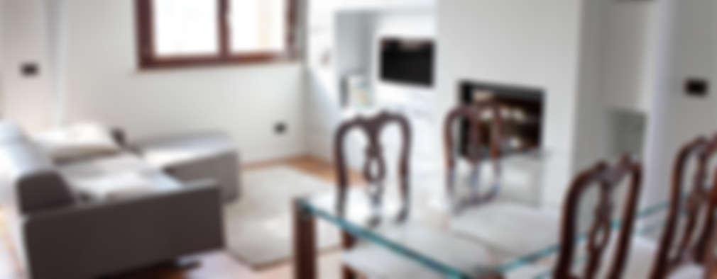 attico giovane coppia: Case in stile in stile Moderno di Barberini & Gunnell