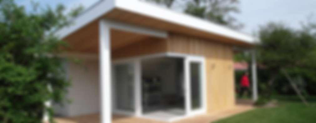 casas de estilo escandinavo por hoeb architectuur interieur - Fotos De Fachadas De Casas