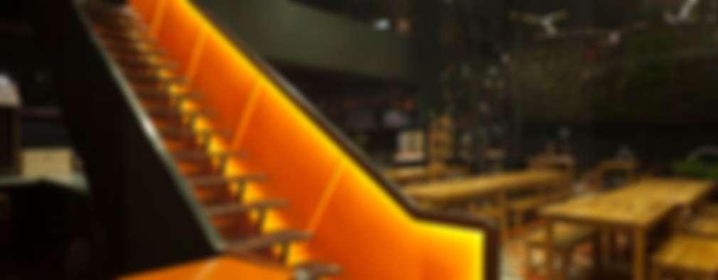 ESCALERAS: Espacios comerciales de estilo  por DUCO Laboratorio de Diseño