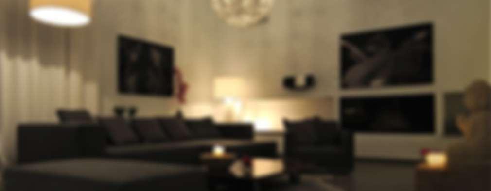 غرفة المعيشة تنفيذ SH asociados - arquitectura y diseño