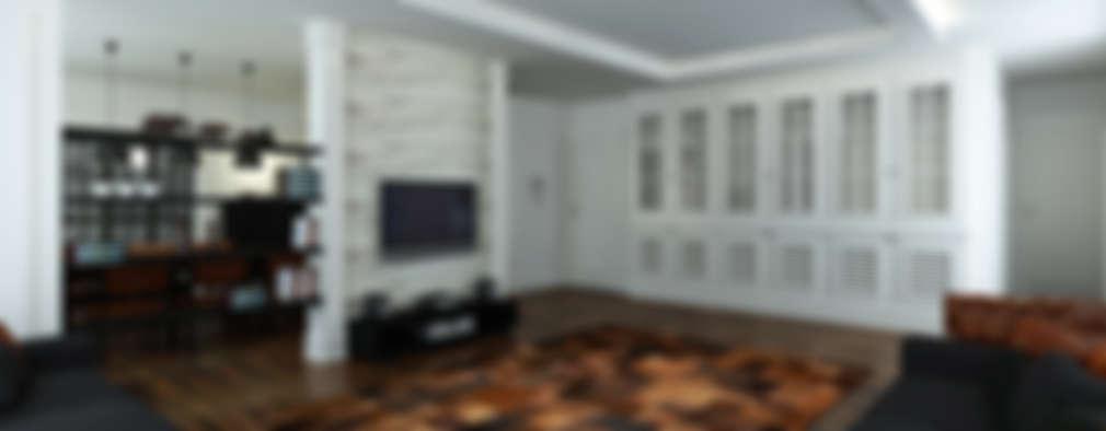 Niyazi Özçakar İç Mimarlık – M.A. EVİ: eklektik tarz tarz Oturma Odası