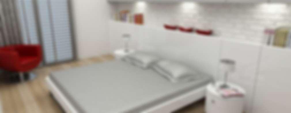 Niyazi Özçakar İç Mimarlık – Z.Ç. EVİ: modern tarz Yatak Odası