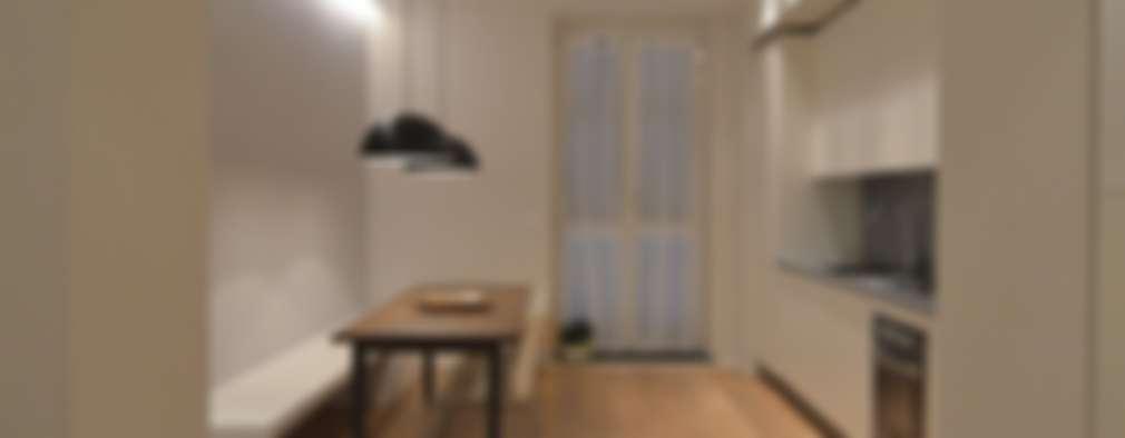 minimalistic Dining room by ministudio architetti
