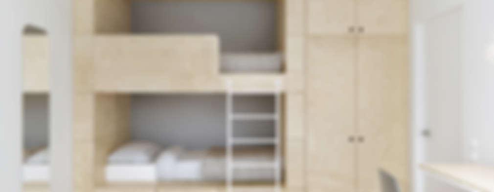 minimalistic Nursery/kid's room by INT2architecture