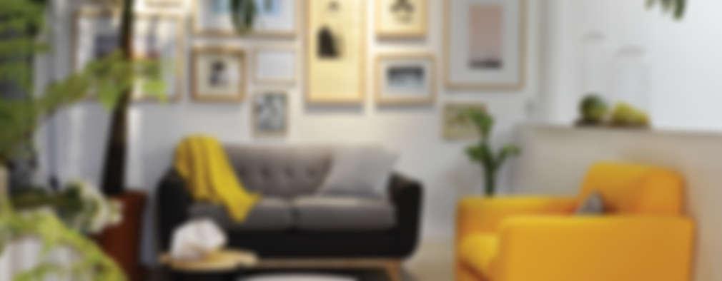 9 idee per un salotto caldo e accogliente for Arredamento moderno ma caldo