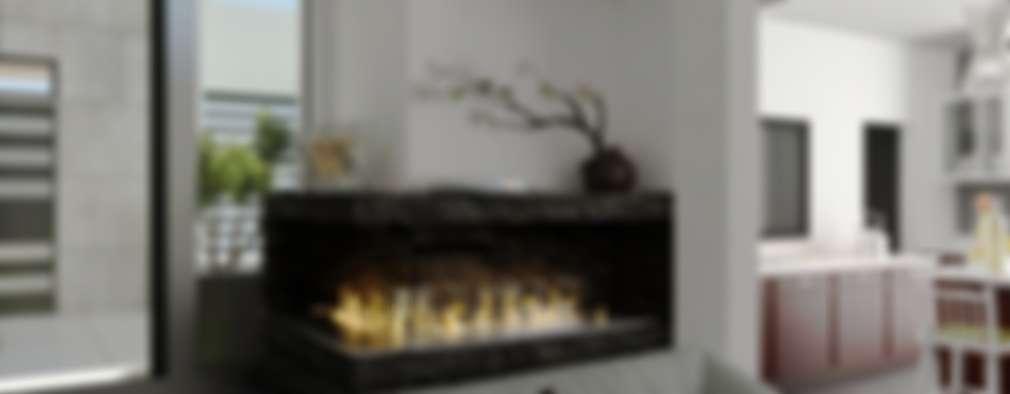 Chimeneas modernas en casa: información y diseños