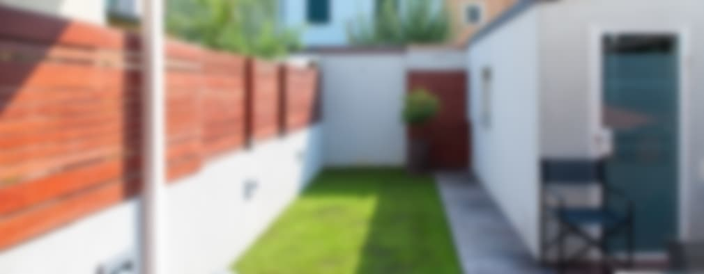 Jardines de estilo minimalista por bbprogetto
