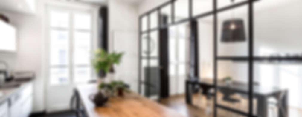 6 bellissime idee per dividere la cucina dal soggiorno - Mobili bruni sora prezzi ...