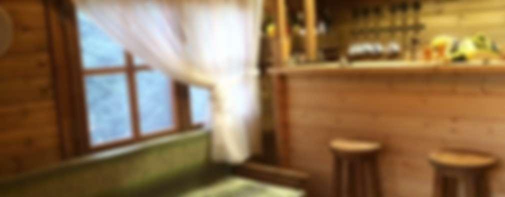 rustic Living room by Tabiat Ahşap Tasarım ve Uygulama San. Tic. Ltd. Şti