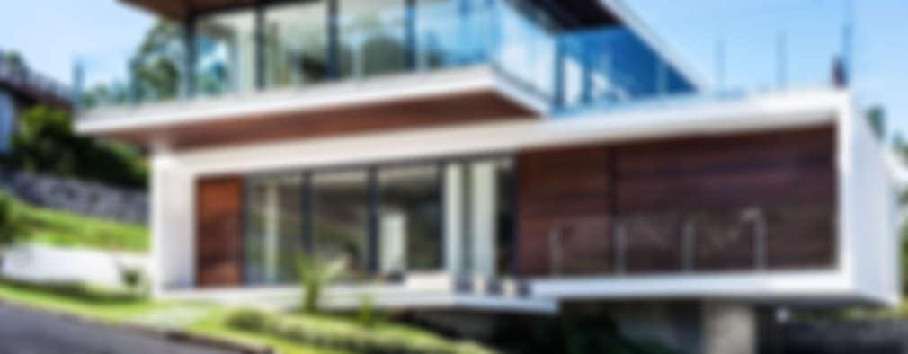 منازل تنفيذ JOBIM CARLEVARO arquitetos