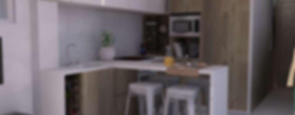 Projekty,  Kuchnia zaprojektowane przez Santiago   Interior Design Studio