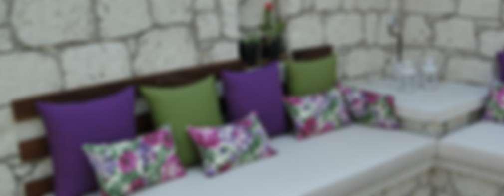 Tuncer Sezgin İç Mimarlık – Yu-Ga Otel Havuz Başı:  tarz
