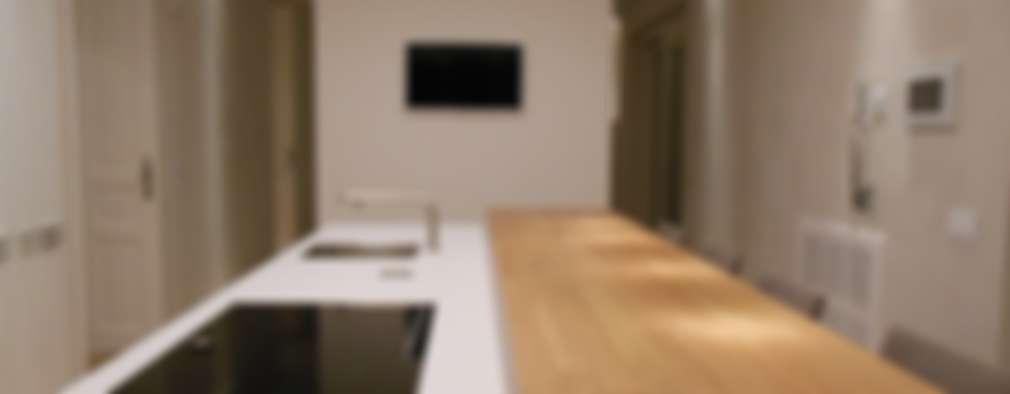 Cocinas de estilo minimalista por RO|a_