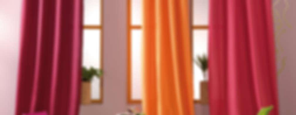 Panneau à Oeillets à l'unité, prêt à poser • Opaque:  de style  par So Textil
