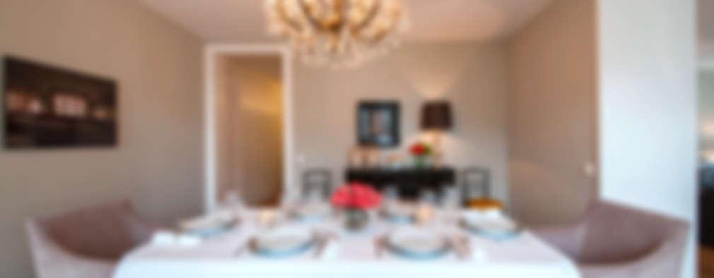 Salle à manger de style de style Classique par Home Staging Factory