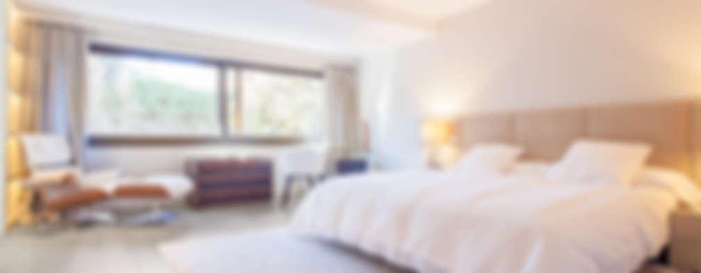 غرفة نوم تنفيذ Tarimas de Autor