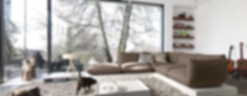 غرفة المعيشة تنفيذ STREIF Haus GmbH