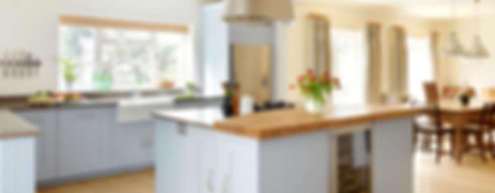 10 cocinas grandes y luminosas