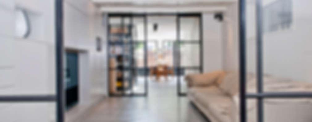 Projekty,  Pokój multimedialny zaprojektowane przez Kodde Architecten bna