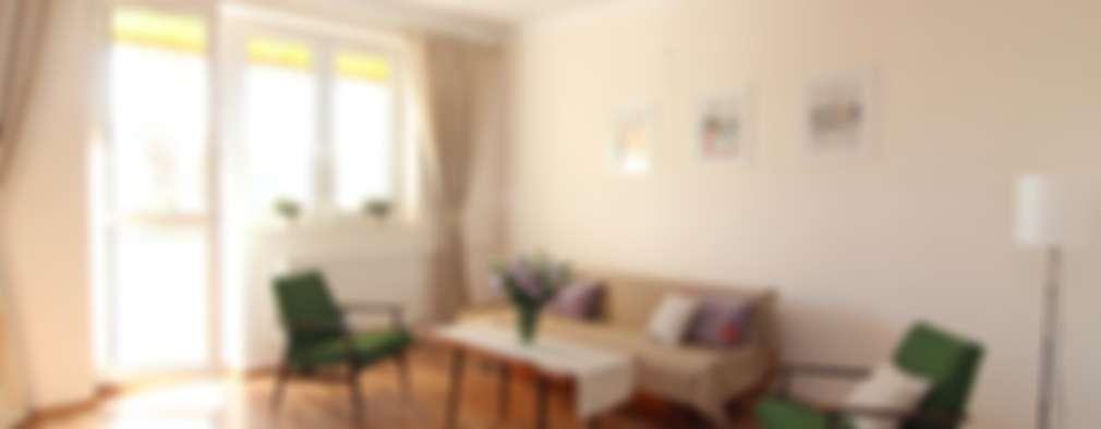 Livings de estilo escandinavo por Better Home
