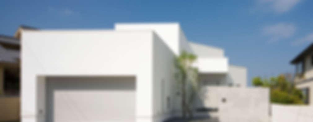 Casas de estilo moderno por 株式会社細川建築デザイン