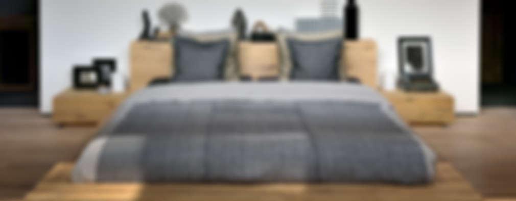 Oak Madra Bed:  de estilo  por bolighus design