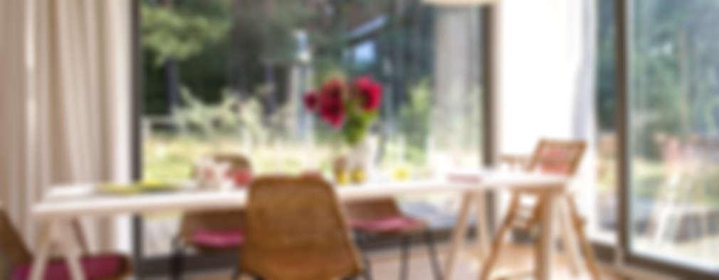 Salas de jantar escandinavas por SOMMERHAUS PIU