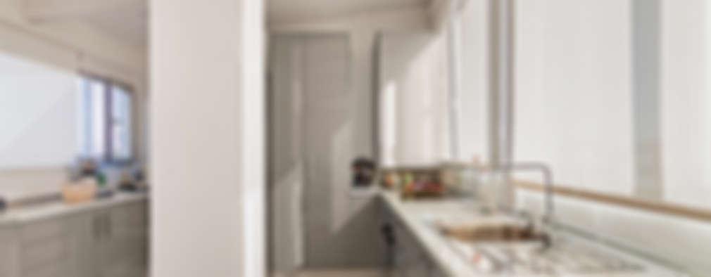 Cucina in stile in stile Moderno di DISEÑO Y ARQUITECTURA INTERIOR