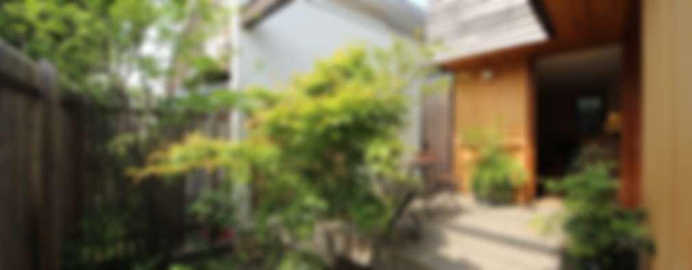 庭院 by 新井アトリエ一級建築士事務所