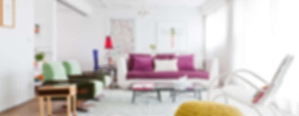 modern Living room by Flávia Gerab