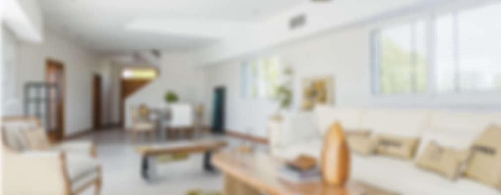 La Casa G: La Casa Sustentable en Argentina.: Livings de estilo moderno por La Casa G: La Casa Sustentable en Argentina