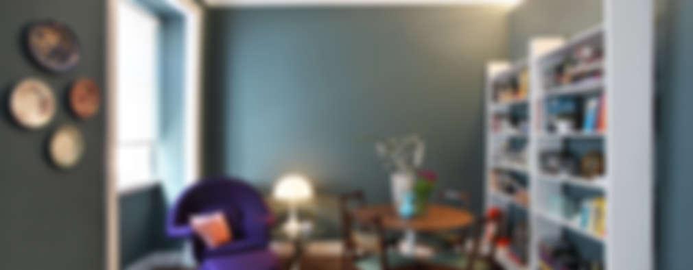 eclectic Living room by Tiago Patricio Rodrigues, Arquitectura e Interiores