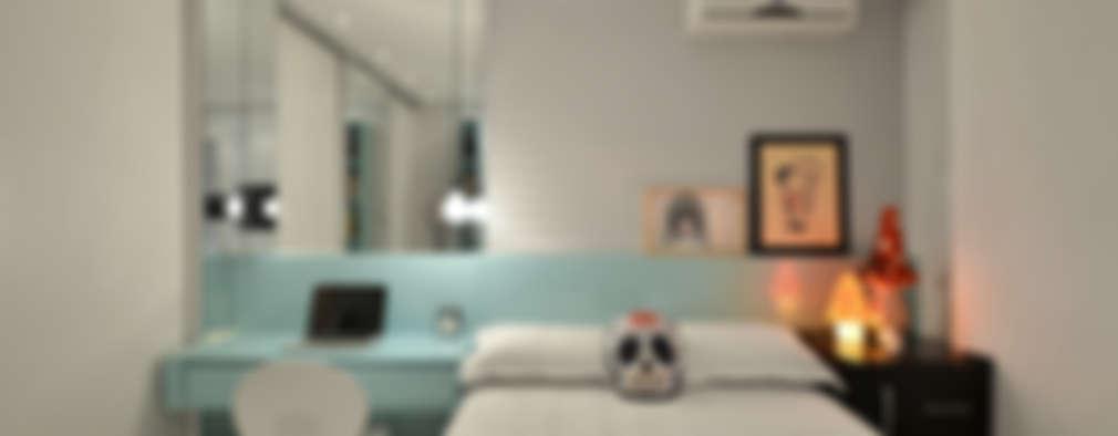 غرفة نوم تنفيذ Johnny Thomsen Design de Interiores