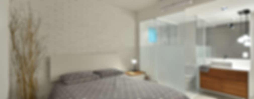 Dormitorios de estilo moderno por Johnny Thomsen Design de Interiores