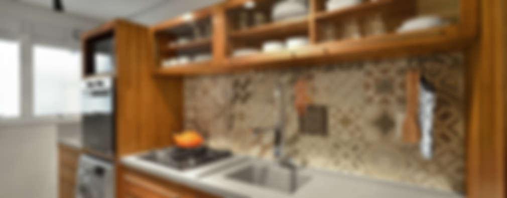 مطبخ تنفيذ Johnny Thomsen Design de Interiores