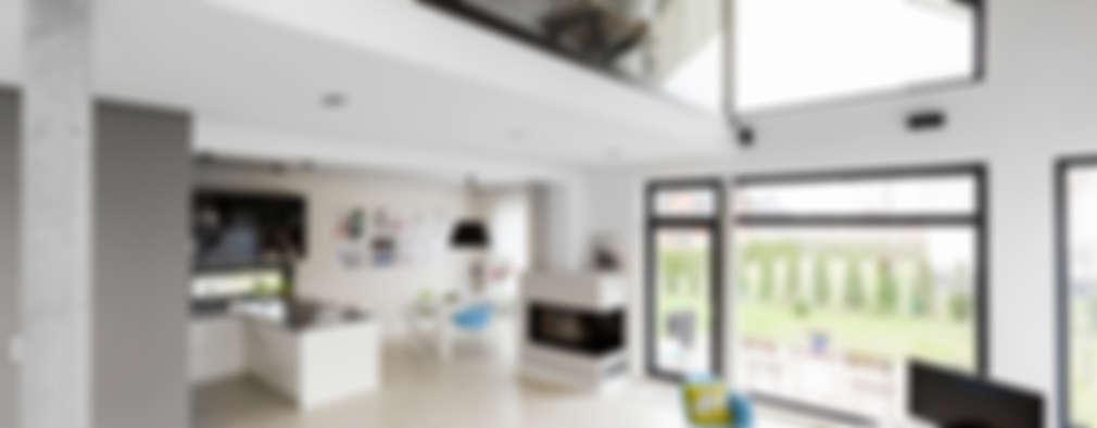 scandinavian Living room by stabrawa.pl