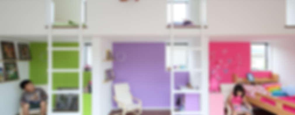 غرفة الاطفال تنفيذ arakawa Architects & Associates