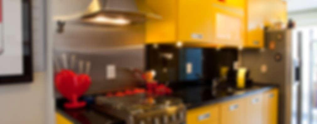 Projekty,  Kuchnia zaprojektowane przez Asenne Arquitetura