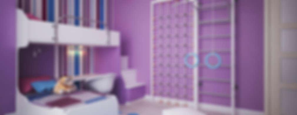 minimalistic Nursery/kid's room by Polovets design studio