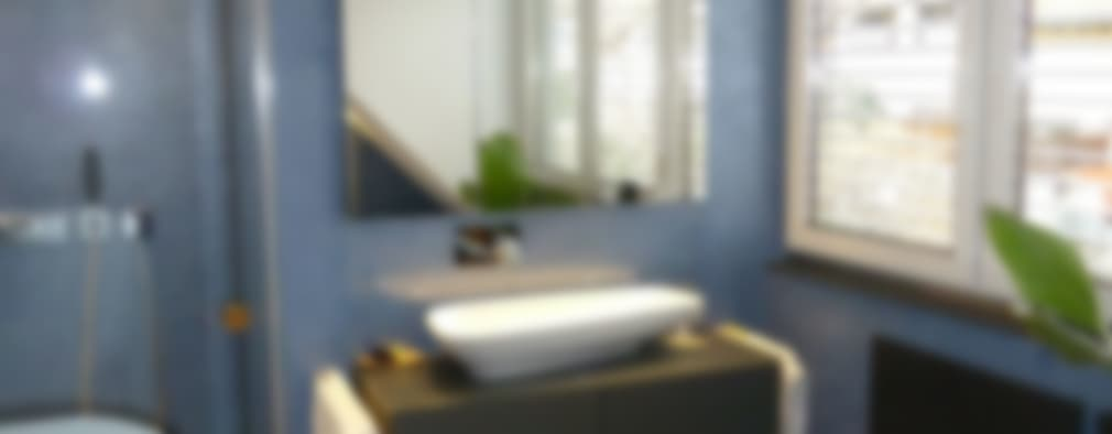 Avant apr s relooking salle de bain et escalier for Relooking salle de bain avant apres