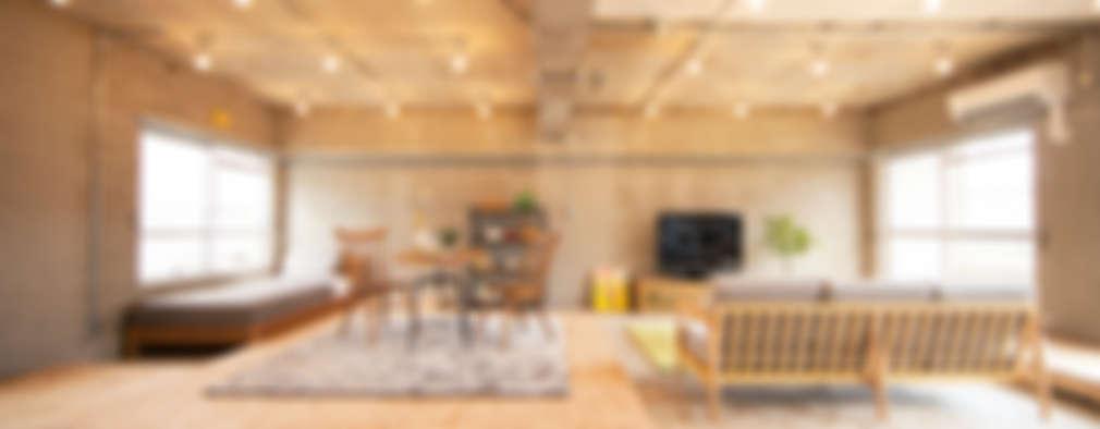 modern Living room by 株式会社クラスコデザインスタジオ