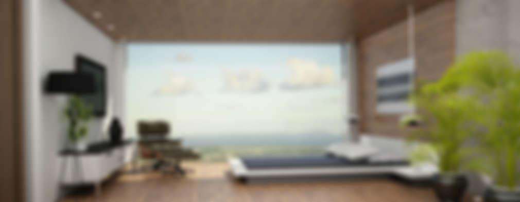modern Bedroom by Citlali Villarreal Interiorismo & Diseño
