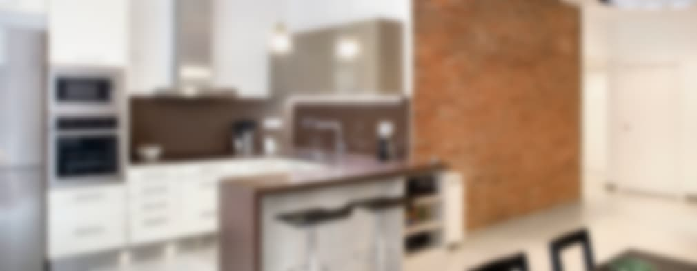 Cocinas de estilo mediterraneo por GPA Gestión de Proyectos Arquitectónicos  ]gpa[®