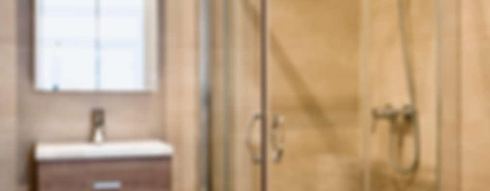 mediterranean Bathroom by GPA Gestión de Proyectos Arquitectónicos  ]gpa[®