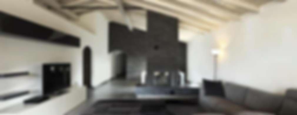 modern Living room by Cavalcanti