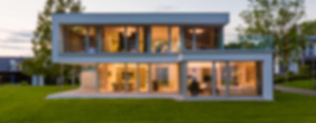 Projekty,  Dom jednorodzinny zaprojektowane przez ARKITURA GmbH