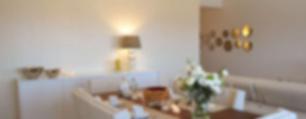 غرفة السفرة تنفيذ T2 Arquitectura & Interiores