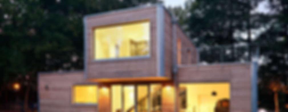 Casas de estilo moderno por Müllers Büro
