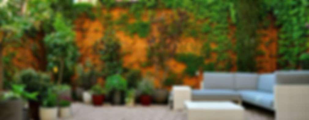 Jardines de estilo ecléctico por ésverd - jardineria & paisatgisme